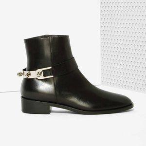 Eugenia Kim Lou Leather Boot - Silver